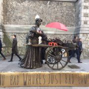 Molly Malone Statue, International Day to End Violence Against Sex Workers 2016