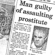 Media coverage, rape of prostitute