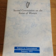Second Commission on the Status of Women Cover